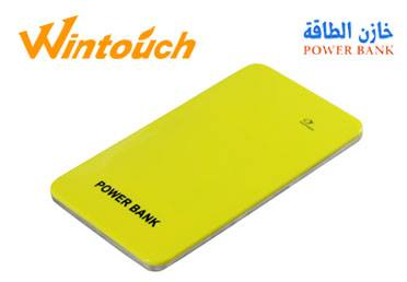 ÎÇÒä ÇáØÇÞÉ POWER BANK Wintouch 4000 mAh